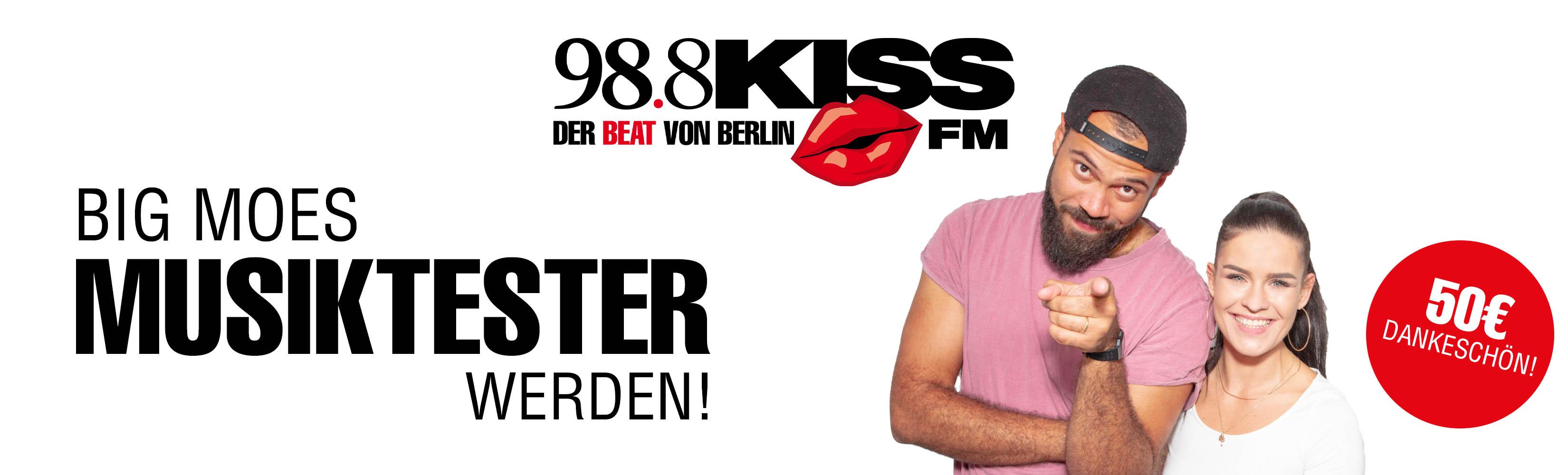 98.8 KISS FM Musikumfrage